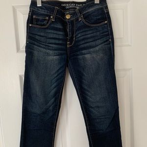 American Eagle Skinny Cropped Jeans